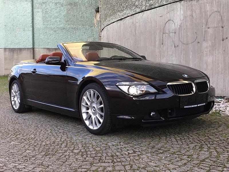 BMW 630i Cabrio E64