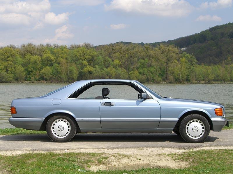Mercedes Benz 560SEC C126