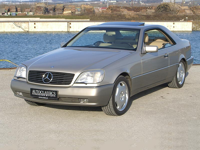 Mercedes Benz S420 Coupe C140