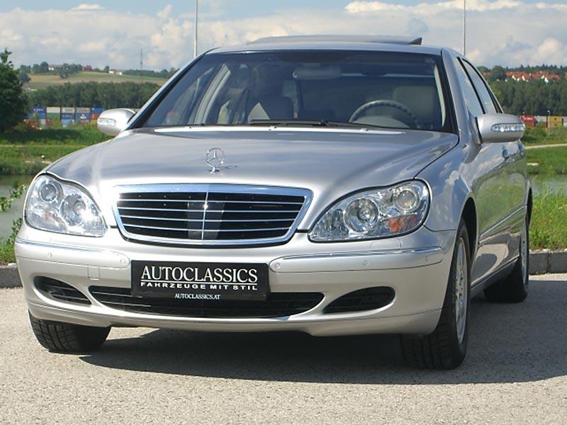 Mercedes Benz S500 W220