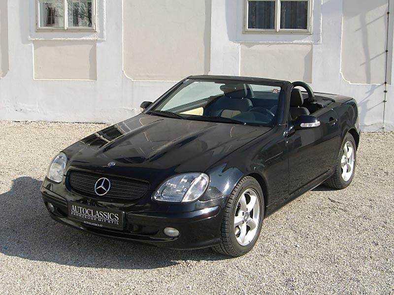 Mercedes Benz SLK 320 R170