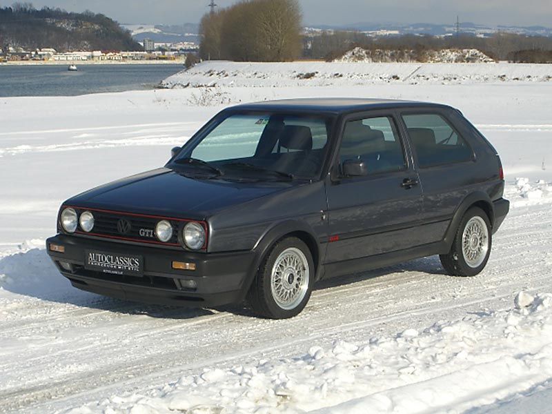 VW Golf II GTI Edition