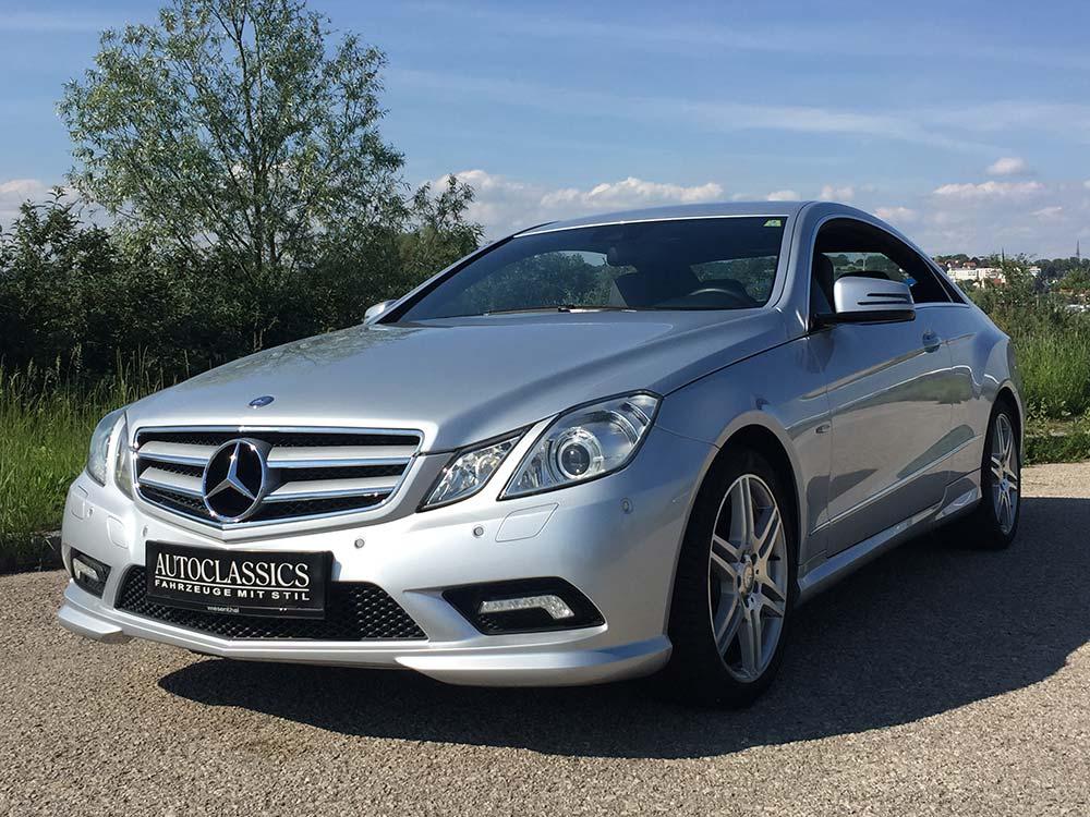 Mercedes Benz E350 CDI AMG | Autoclassics – Fahrzeuge mit Stil