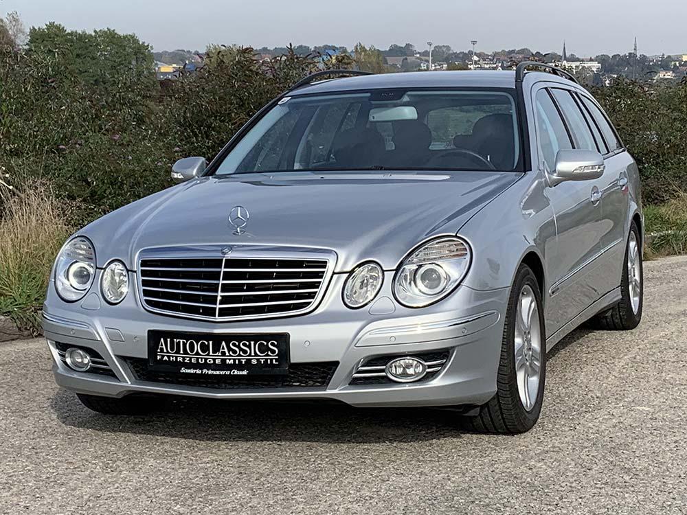 Mercedes-Benz E200 T Avantg. CDI Aut.   Autoclassics – Fahrzeuge mit Stil