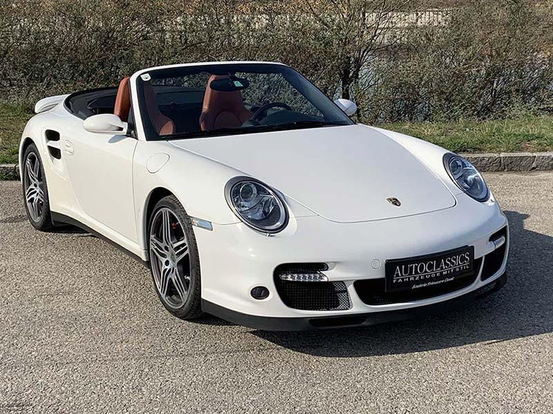 Porsche 911 turbo Cabrio 997 | Autoclassics – Fahrzeuge mit Stil
