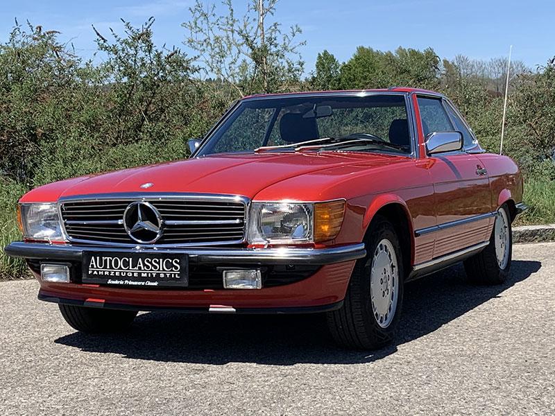 Mercedes 300SL R107 | Autoclassics – Fahrzeuge mit Stil
